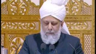 Peace Conference 2009 - Hadhrat Khalifatul Masih V Speech - Part 4