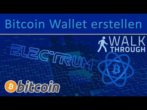 So erstellt ihr eine Bitcoin Wallet (Bitcoin Geldbörse)! [Deutsch]