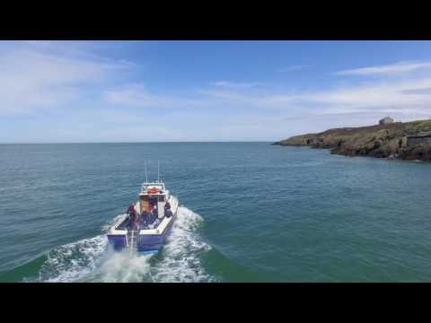 Dive Charter Leaving Amlwch Port
