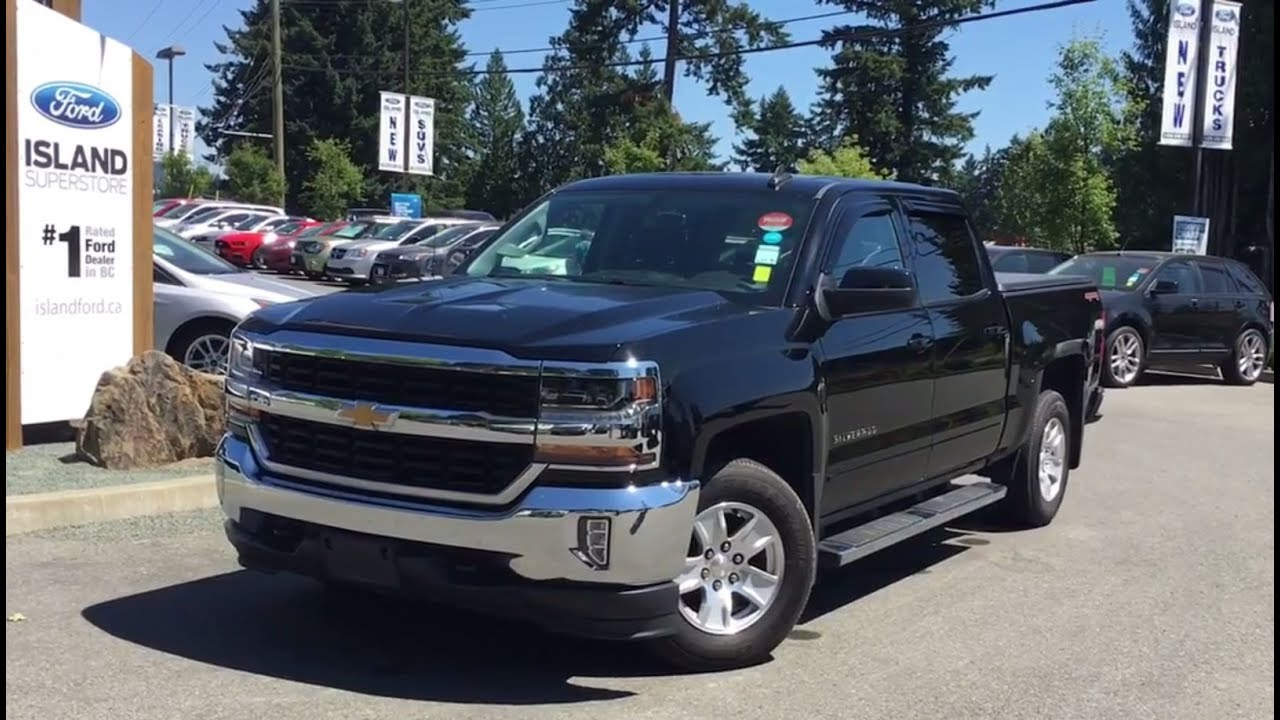 Black 2016 Chevrolet Silverado 1500 Lt One Owner Review Island Ford