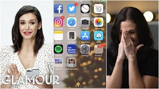 Nina Dobrev Hijacks a Stranger's Phone | Glamour thumbnail