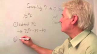 How to Convert Temperature From Fahrenheit to Celsius