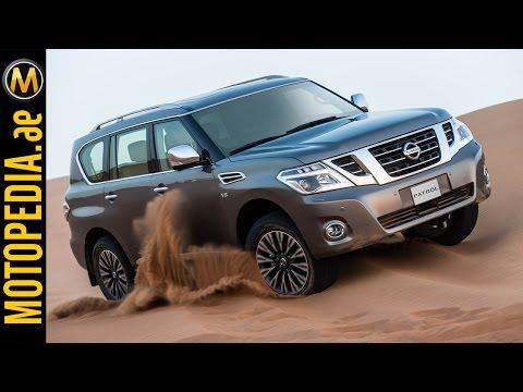 2014 Nissan Patrol review -  تجربة نيسان باترول - Dubai UAE Car Review by Motopedia.ae