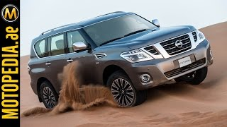 2014 Nissan Patrol review -  تجربة نيسان باترول - Dubai UAE Car Review by Motopedia.ae