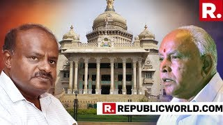 Karnataka Crisis: CM HD Kumaraswamy Seeks Trust Vote In Assembly, Urges Speaker Fix Time For It