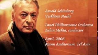 Schönberg: Verklärte Nacht - Mehta / Israel Philharmonic Orchestra
