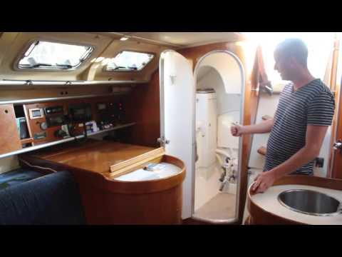 Life is Like Sailing - Beneteau 38 Boat Tour - Part 1