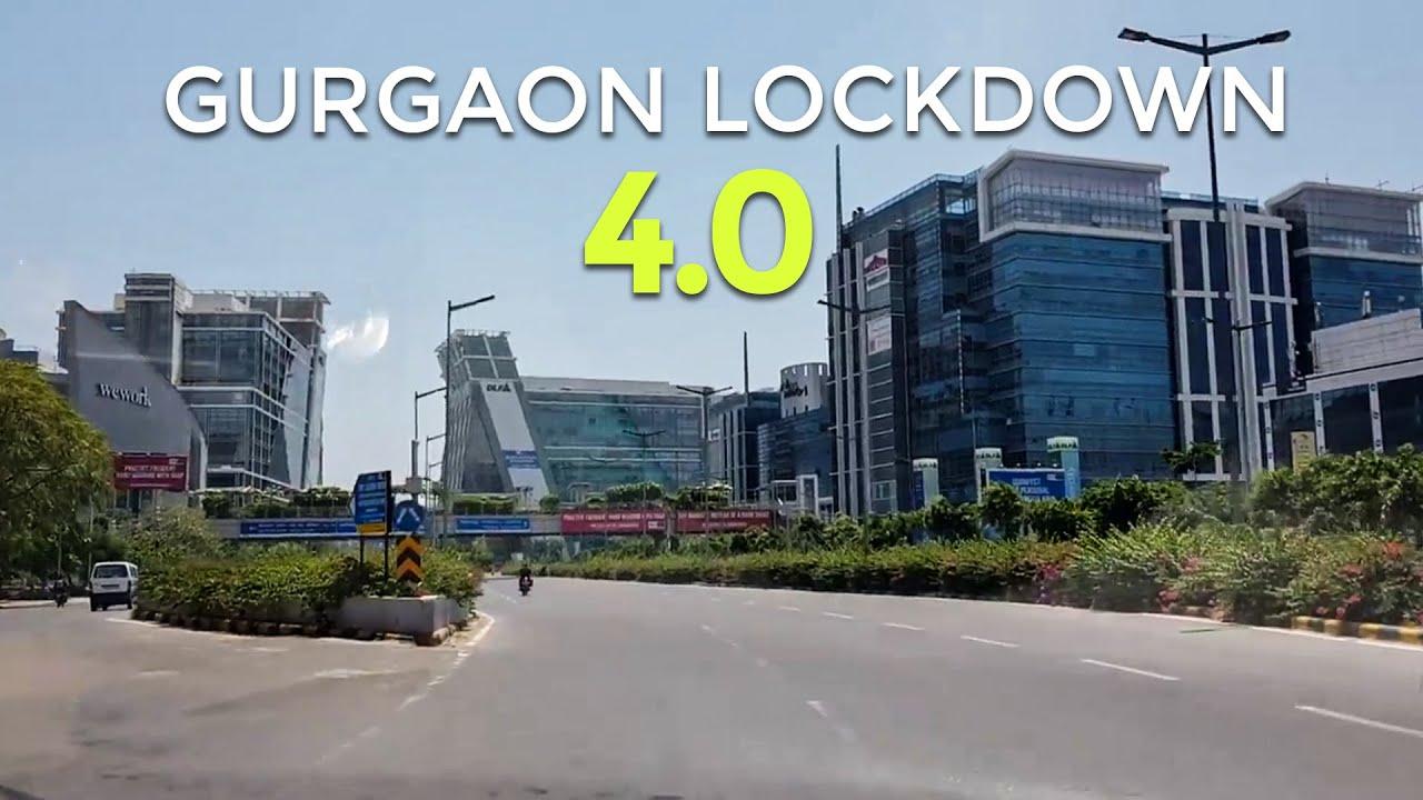 Gurgaon Lockdown 4.0 Exclusive Footage