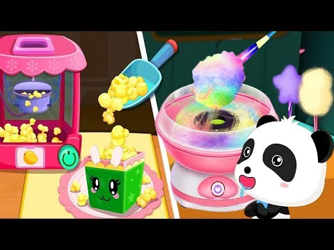 Thumbnail: Outdoor Playground for kids Amusement park | Baby Panda's Carnival | BabyBus Game