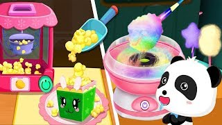 Outdoor Playground for kids Amusement park | Baby Panda's Carnival | BabyBus Game