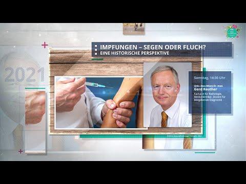 Impfungen - Segen oder Fluch? - Univ.-Doz.(Wien) Dr. med. Gerd Reuther auf den GGB-Gesundheitstagen