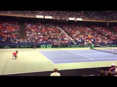Djokovic injured @ Davis Cup