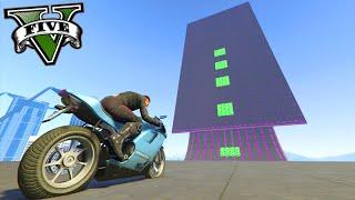 GTA V Online: A MELHOR CORRIDA de MOTO com STUNTS!!! #80