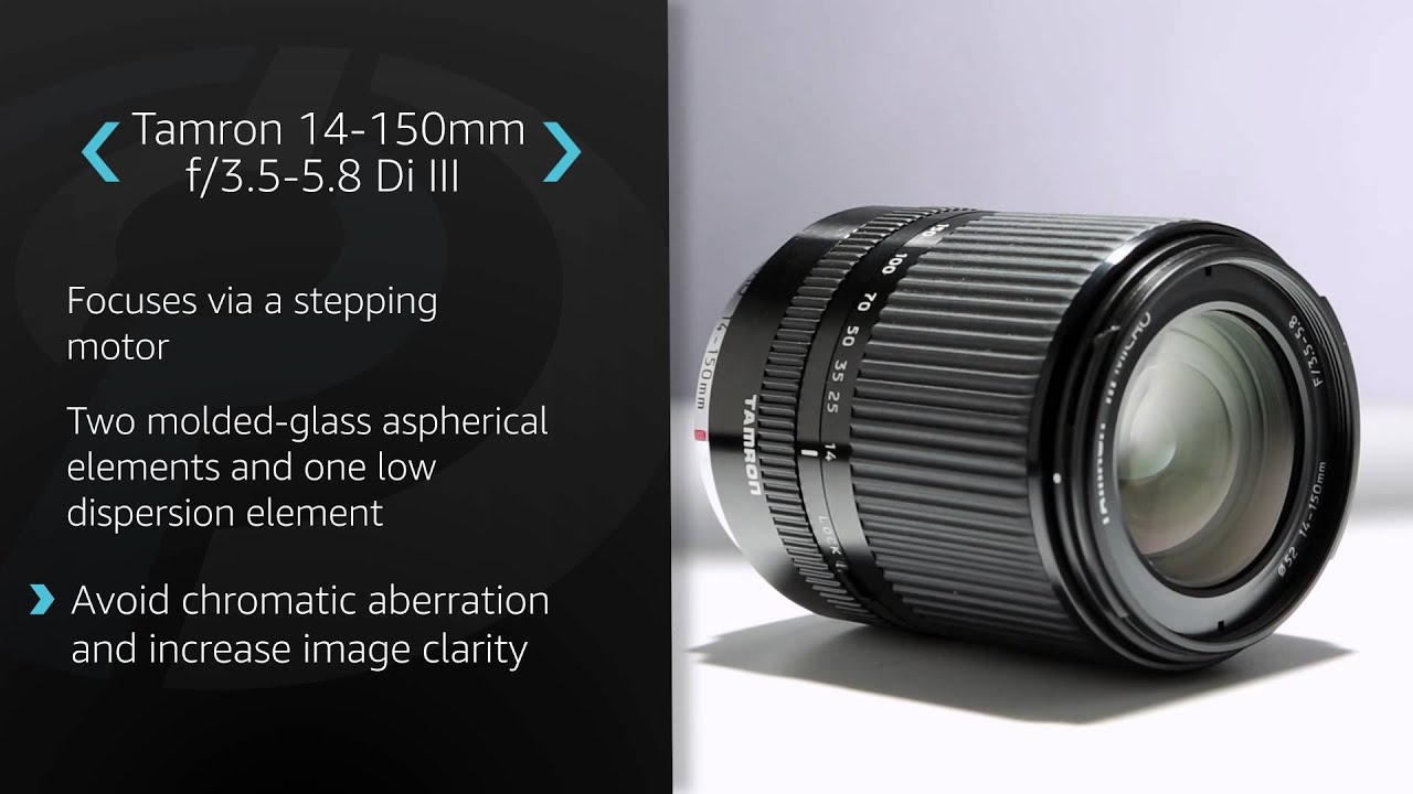 Tamron 14 150mm F 3 5 5 8 Di Iii Product Overview Youtube