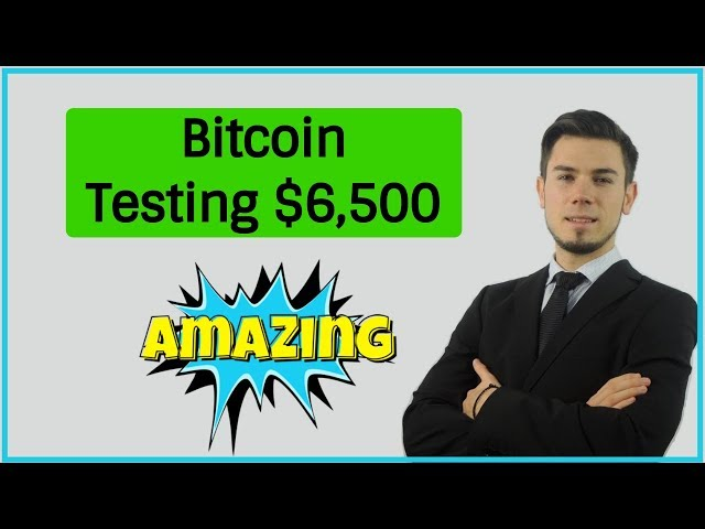 Bitcoin Testing $6,500 Dead Cat Bounce ?