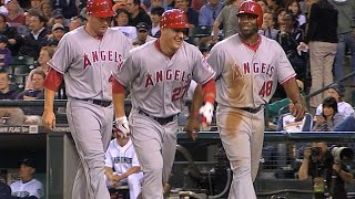 Trout's first multi-home run game