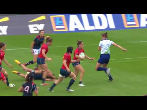 Womens Rugby World Cup 2017- Round 4/ Semi Finals- Best Tries & Highlights