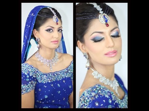 Blue Eyes Walima / Reception Asian Bridal Makeup