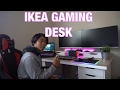 IKEA diy Computer/gaming desk