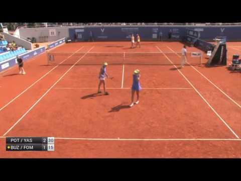 Potapova/Yastremska v Buzarnescu/Fomina - 2017 ITF Prague