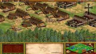 Age of Empires II - 105ª Partida Multijugador En Línea - Lucas, Exe, Juan Cruz y Fede