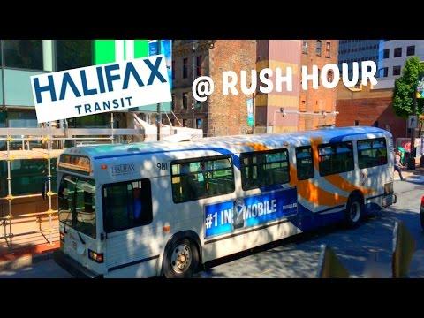 Halifax Transit at Rush Hour - June 2015