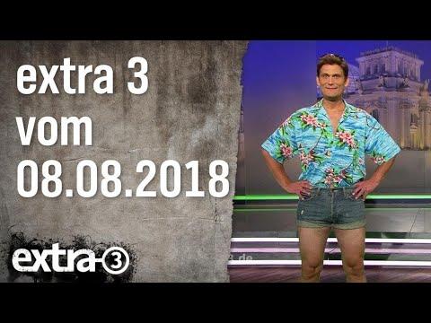 Extra 3 vom 08.08.2018 | extra 3 | NDR