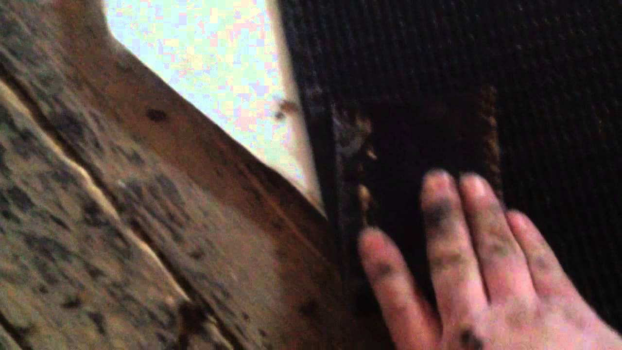 How to patch cast iron drain line