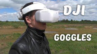 Тест Fpv Очков Dji Goggles С Mavic Pro / Test Dji Goggles With Mavic Pro (Sub)