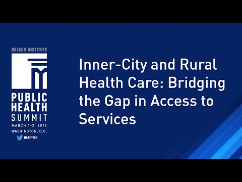 Inner-City and Rural Health Care: Bridging the Gap in Access to Services