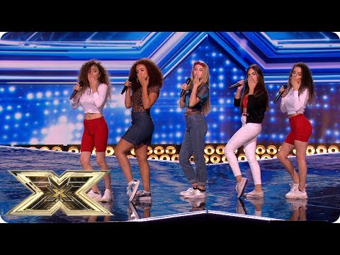 Sweet Sense get us bouncing with Uptown Funk | The X Factor UK 2018