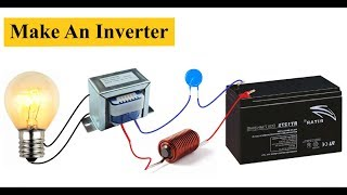 Maison Simple convertisseur 12V à 220V || DC à AC Convertisseur de BRICOLAGE