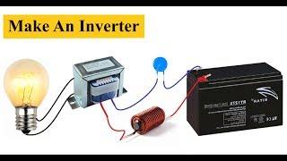 Basit ev Yapımı İnverter 12 V 220V | DC Dönüştürücü DİY AC