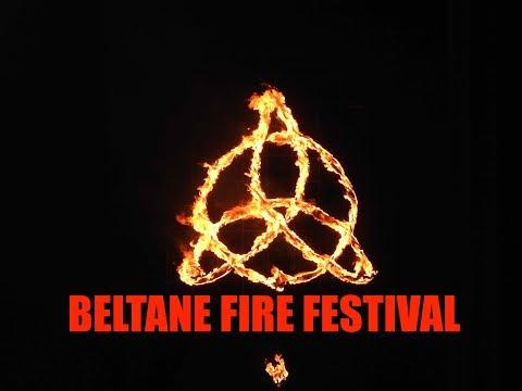 Naked Pagan Dancing / Beltane Fire Festival 2018