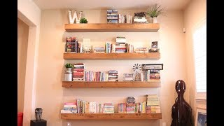 The Only DIY Floating Shelf Video You'll Ever Need!!!