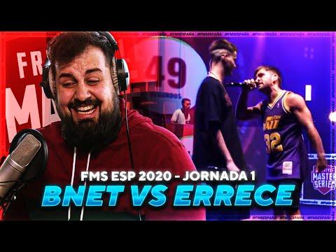 QUE FLOW MAN | PAPO REACCIONA A BNET vs. ERRECÉ - FMS ESPAÑA 2020 J1 - PapoMC
