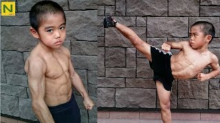 ブルース・リー少年 RYUSEIの身体能力とトレーニング&カンフー【筋トレ】 thumbnail