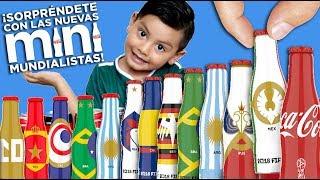 Mini Mundialistas Coca-Cola   Colección Completa   Botellitas del Mundial 2018