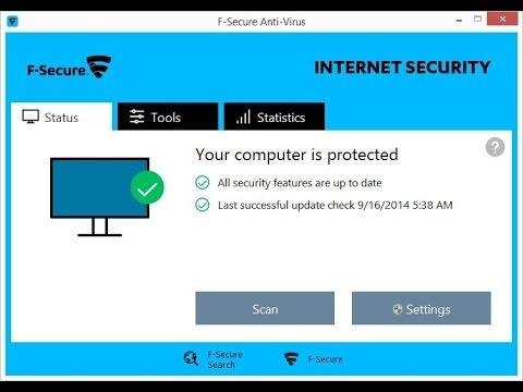 F secure antivirus 2018 subscription key free download 180 days.
