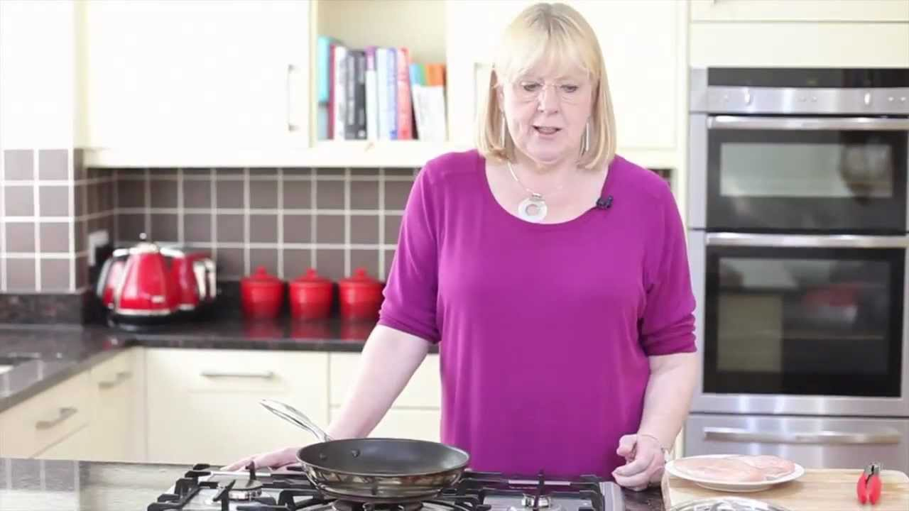 how to cook chicken breast in a pan youtube