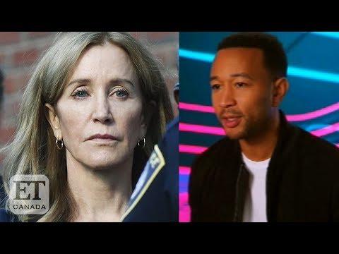 John Legend Reacts To Felicity Huffman Sentence