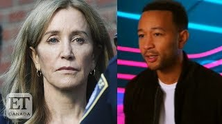 John Legend Reacts To Felicity Huffman Sentence