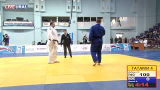 Первенство России по дзюдо до 23 лет, 2015. Финал 100 кг: Дибрин, Давий