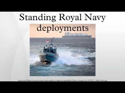 Standing Royal Navy deployments