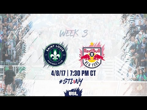 USL LIVE - Saint Louis FC vs New York Red Bulls II 4/8/17