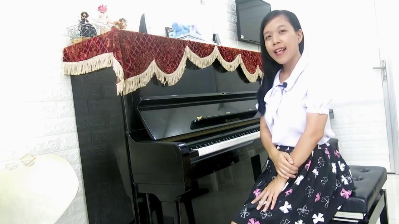 LUYỆN NGÓN PIANO | Bài tập cơ bản nhất: Gam C trưởng (C Major Scale)