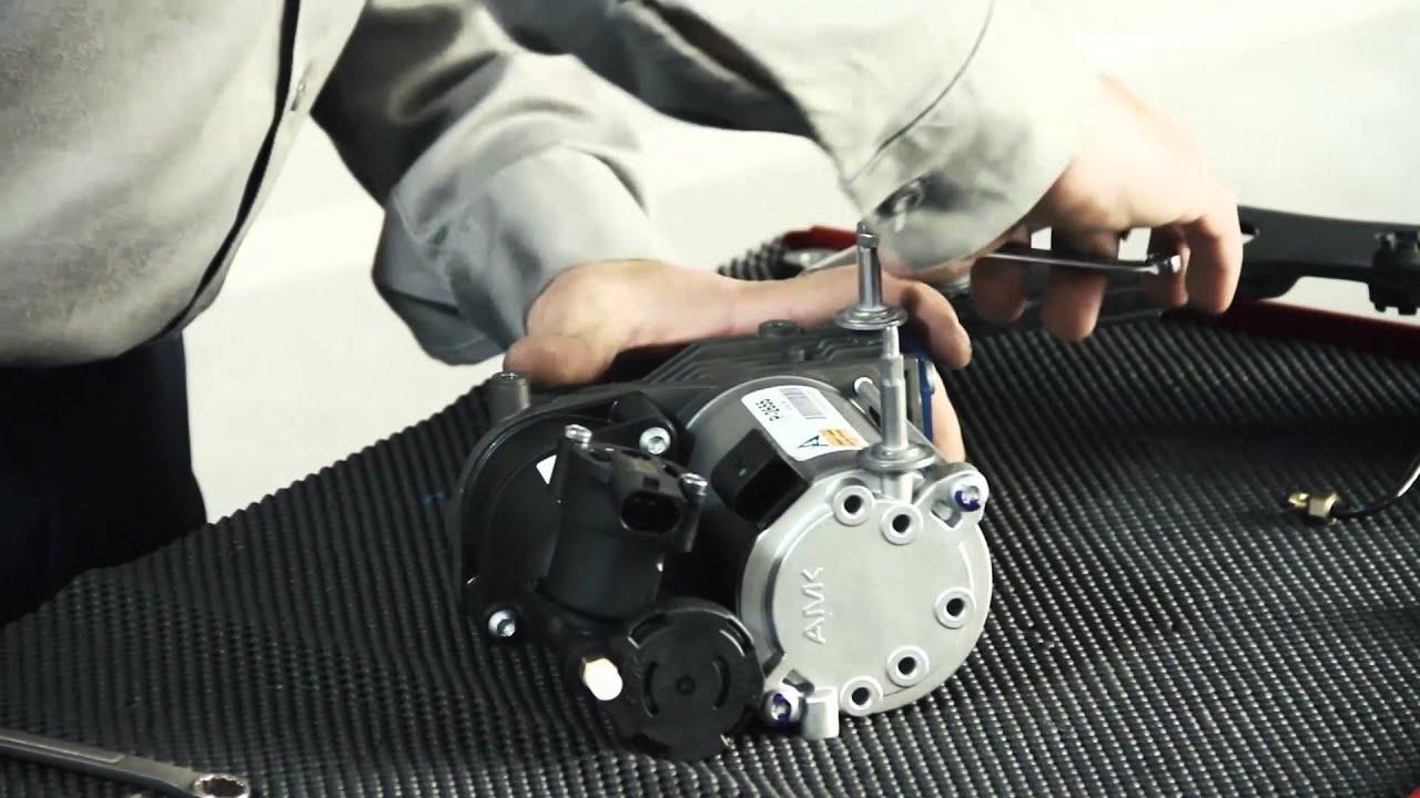 Replacing the 0713 BMW X5 (E70) & X6 (E71) Air Susp Compressor with an AMK Compressor from