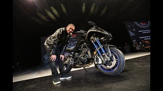 2017 eicma yamaha global press premire pioneer of emotion