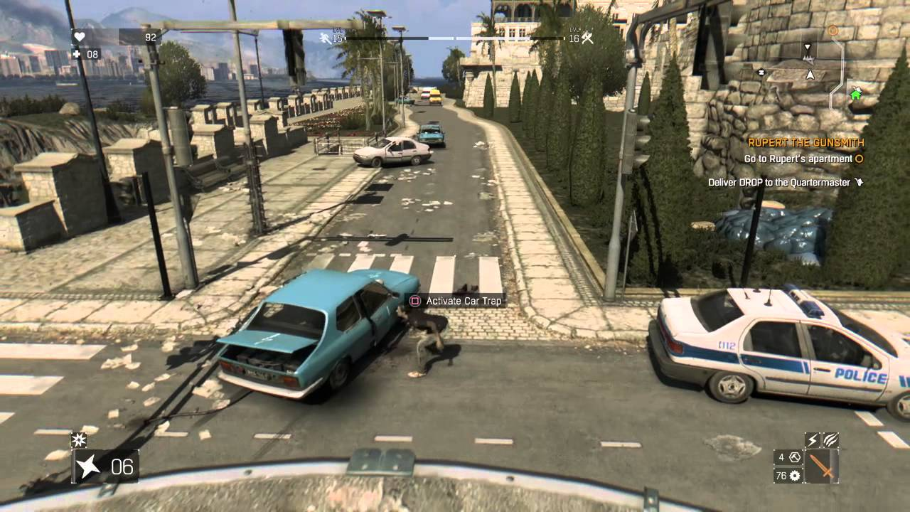 how to make car bombs dying light