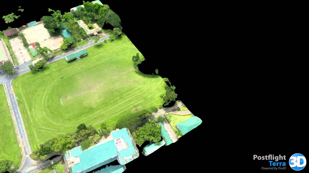 Mr Drone in Action@UPLB College of Forestry & Natural Resource, Philippines